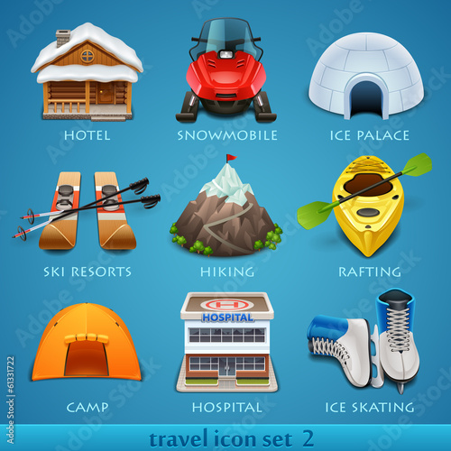 Travel icon set-2