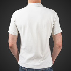 man in t-shirt