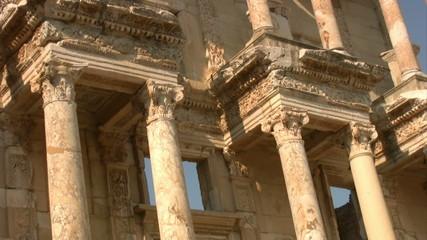 Library Of Celsus at Ephesus Turkey