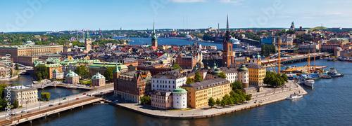 Fotobehang Stockholm Stockholm city in Sweden