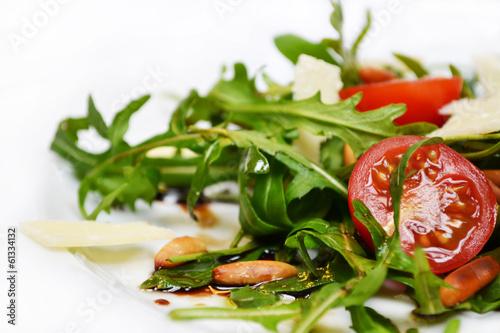 Fotobehang Salade Rucola Salat #4