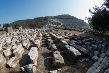 ancient city of Ephesus at Turkey