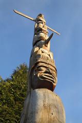 Aboriginal Totem Pole, Vancouver