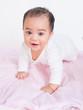 Little Asia Baby Happy