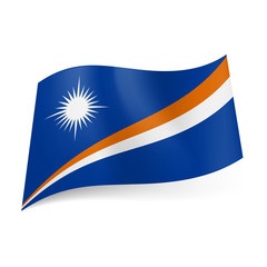 State flag of Marshall Islands