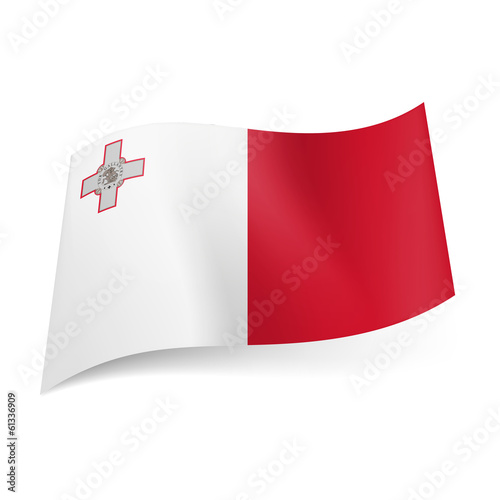 State flag of Malta