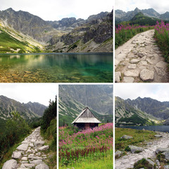 photos from Black Pond Gasienicowy in Tatra Mountains, Poland