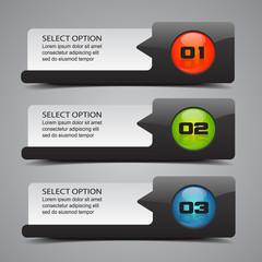 Modern Option Banners