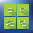 Internet service provider icons, eps 10