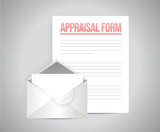 appraisal form document illustration design