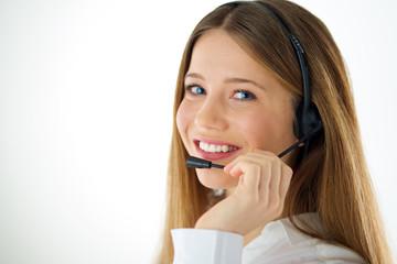 woman call operator