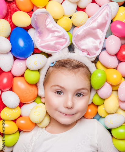 cute easter girl