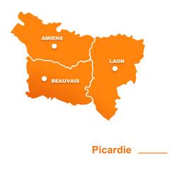 picardie région départements et villes