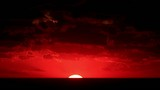 Timelapse sunset on the sea. Crimea, Ukraine. FULL HD