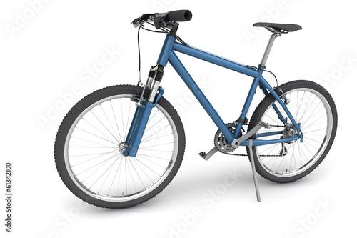 Blaues Fahrrad