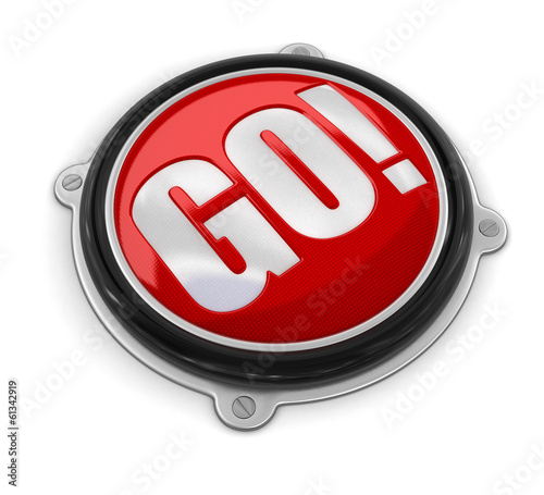 Button GO! (clipping path included)