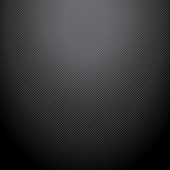 Realistic dark carbon background, texture. Vector illustration