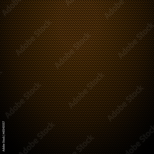 Realistic dark brown carbon background, texture. Vector illustra