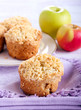 ������, ������: Apple buttermilk muffins