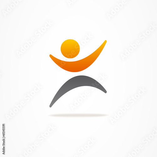 logo business abstract man