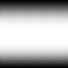 Abstract halftone black and white background
