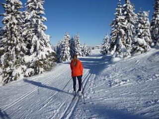 Norwegen Lillehammer Winter