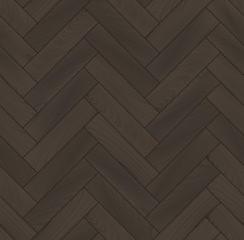 Realistic wooden floor herringbone parquet seamless pattern