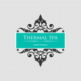 Spa background. Element for design.