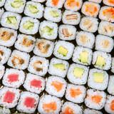 Japanese sushi - 61350575