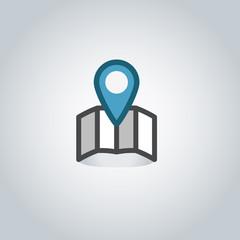 Map pin web icon