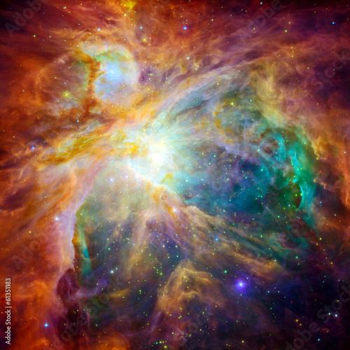 Fototapeta The cosmic cloud called Orion Nebula
