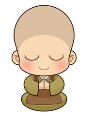 Buddhist monk, Japan.