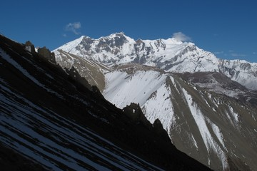 Chulu, view from a place near Tilicho Lake