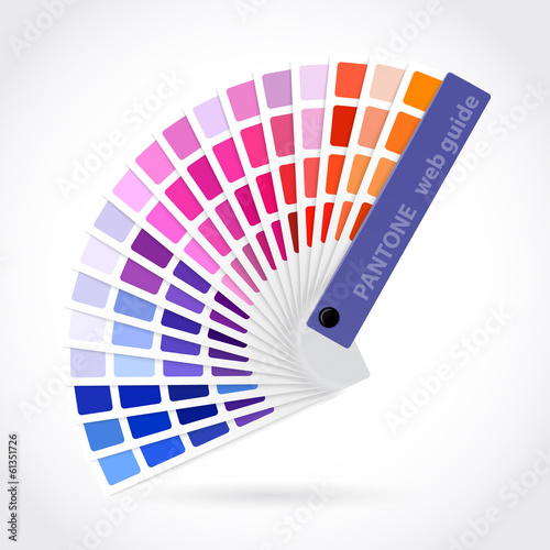 Color palette guide