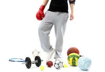 Auswahl an Sportarten