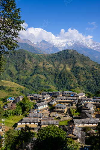 Ghandruk village in the Annapurna region