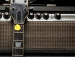 Worn amp and electric guitar
