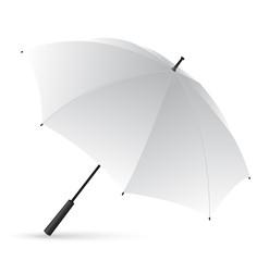 White Umbrella isolated