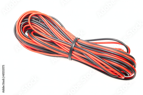 Black and red wire