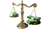 Inequality Scales Of Justice Income Gap Australia poster