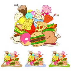 many foods