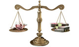 Inequality Scales Of Justice Income Gap China poster