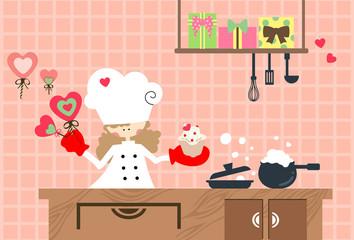Valentine kitchen
