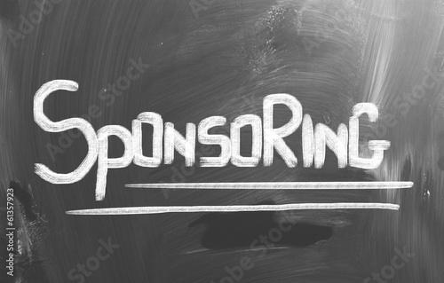 Sponsoring Concept