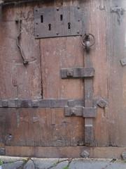 Vecchio serramento in ferro