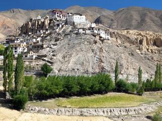Lamayuru gompa - buddhist monastery - Ladakh  - India