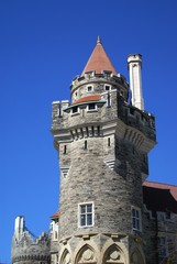 tower of a castle
