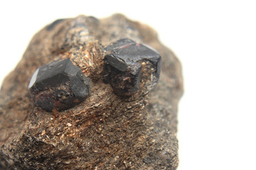 natural hesonite (garnet mineral)