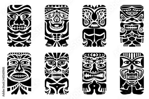 Tiki Mask - 61360968