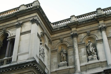 statues in alcoves